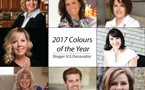 Home Staging VS.Decorating: 2017 Color of the Year Showcase Videos