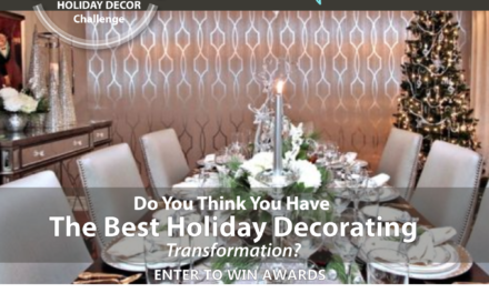 Aspired Home Design Challenge – Holiday Decor Transformation